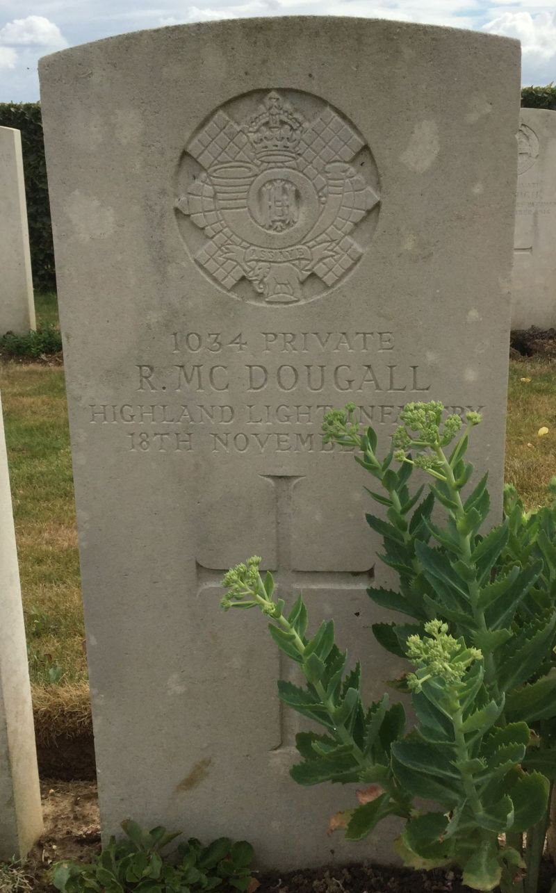 Robert McDougall memorial
